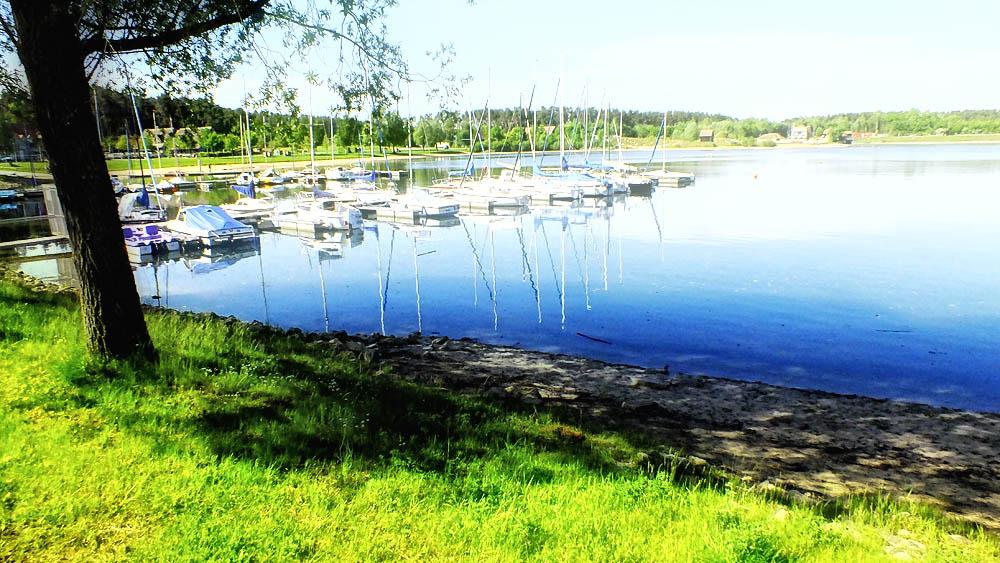 Rothsee in 100m Entfernung mit Bademöglichkeit, Surfen und Segeln