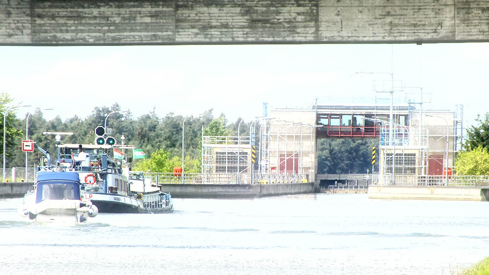Schleuse Hilpoltstein, über Radweg in 5 min erreichbar
