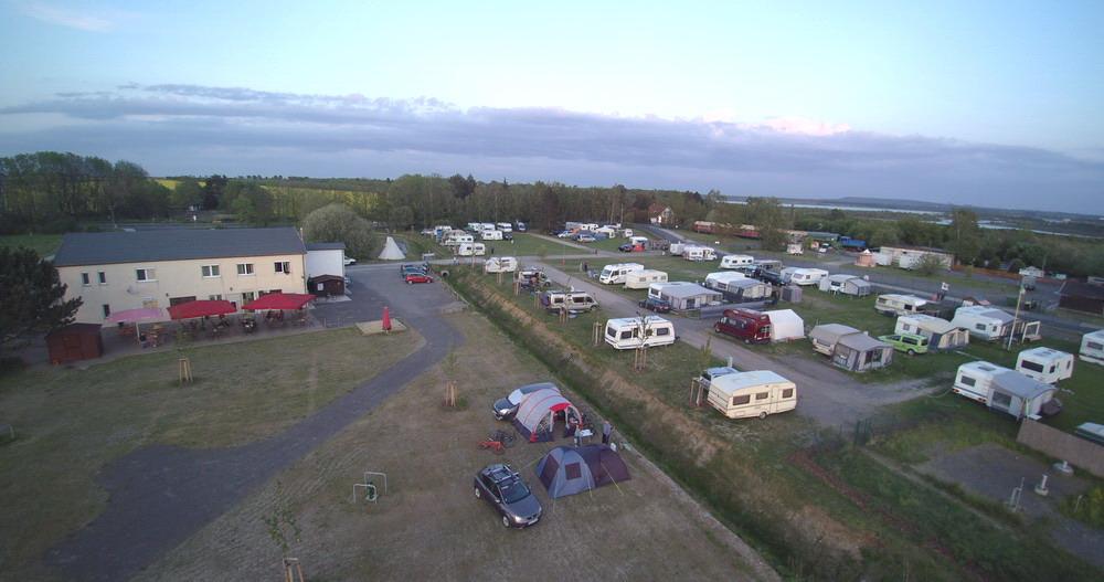 Campingplatz Übersicht