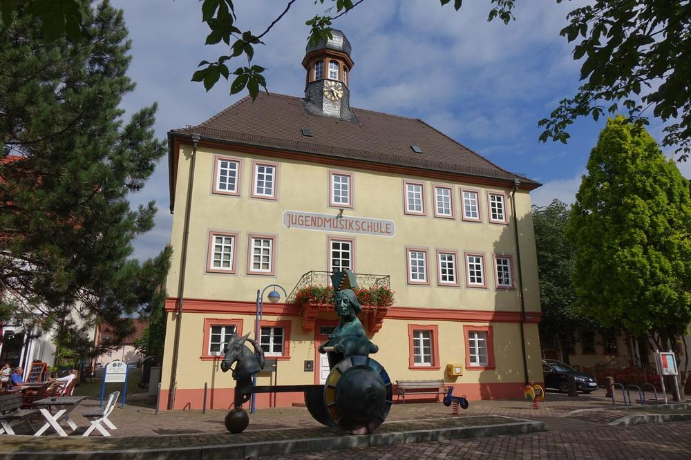 Kleiner, aber feiner Innenstadtbereich in Bad Schönborn