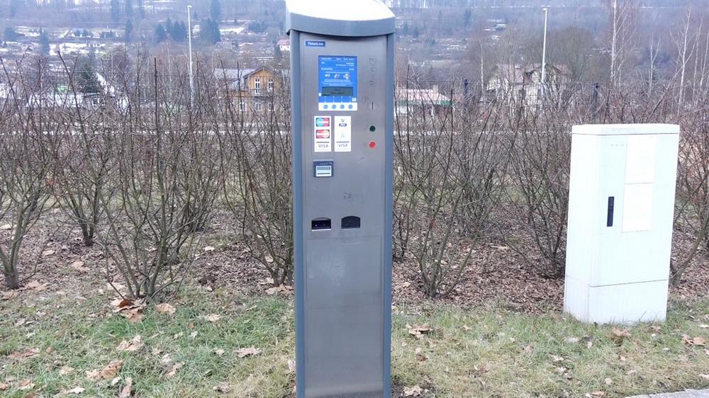 Bezahlautomat mit Bargeld, EC oder Kreditkarte